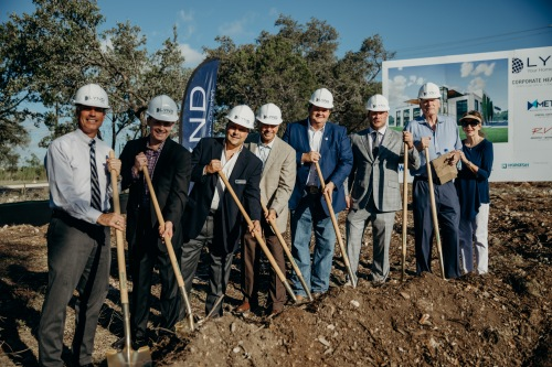 LYND breaks ground on future corporate HQ